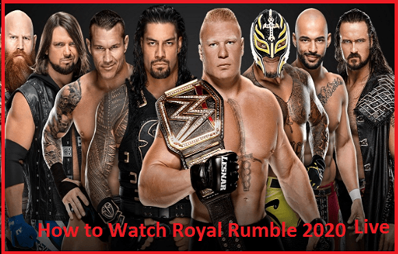 Royal Rumble 2020 live stream and how to watch the live stream