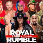 Royal Rumble Winners