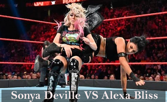 Sonya Deville vs Alexa Bliss