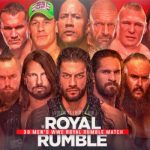 WWE Royal Rumble 2020 match