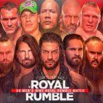 WWE Royal Rumble 2020 match