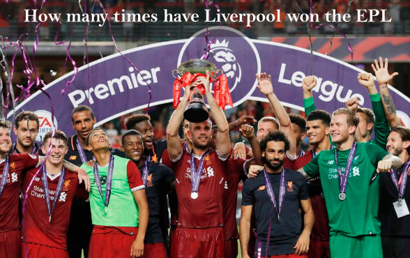 How many times have Liverpool won the Premier League?