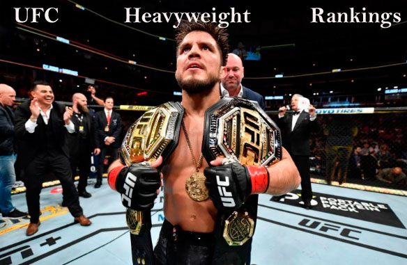UFC heavyweight champion, rankings 2020 and weight division