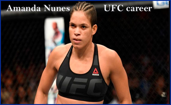 Amanda Nunes boxer, wife, record, net worth, height, family and more