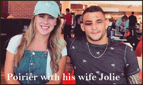 Dustin Poirier's wife
