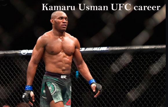 Kamaru Usman UFC career, wife, net worth, record, height, family