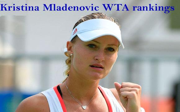 Kristina Mladenovic Tennis player, boyfriend, net worth, height, family
