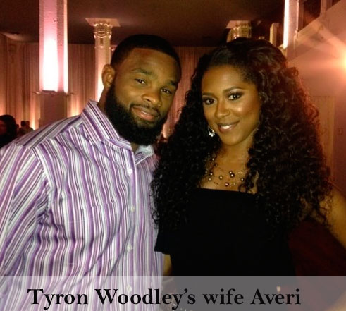 Tyron Woodley's wife