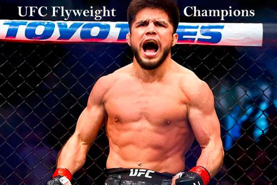 UFC Flyweight champions