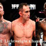 UFC Lightweight champions