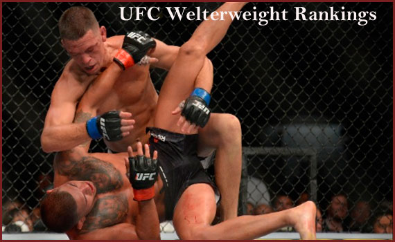 UFC welterweight rankings, champions list and weight division