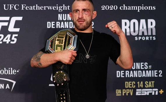UFC featherweight champion