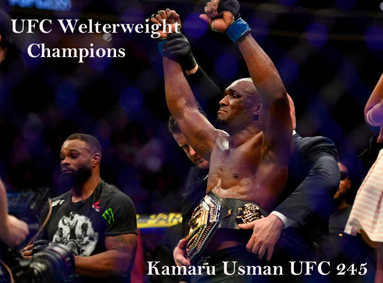 UFC welterweight champions