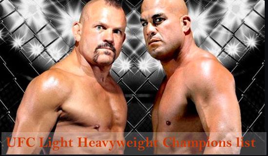 ufc light heavyweight champions