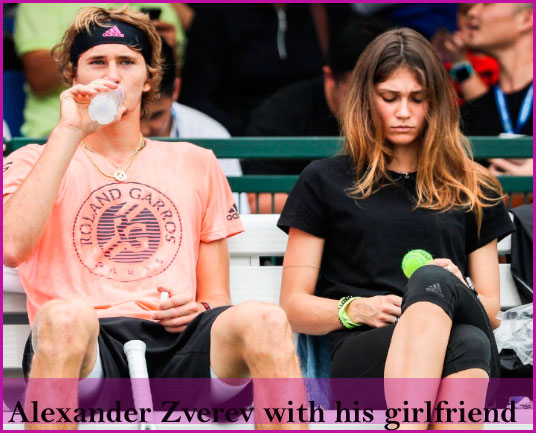 Alexander Zverev's girlfriend