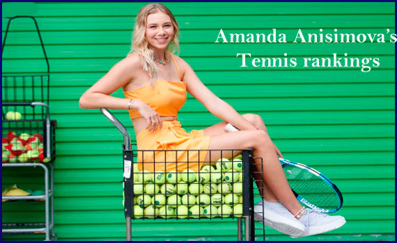 Amanda Anisimova tennis ranking, father, age, net worth, height, family
