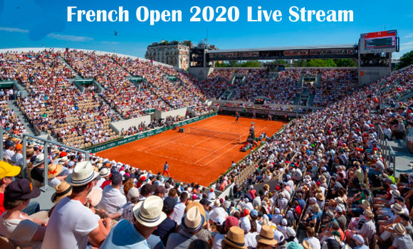 How to watch French open 2020 live Streaming on TV