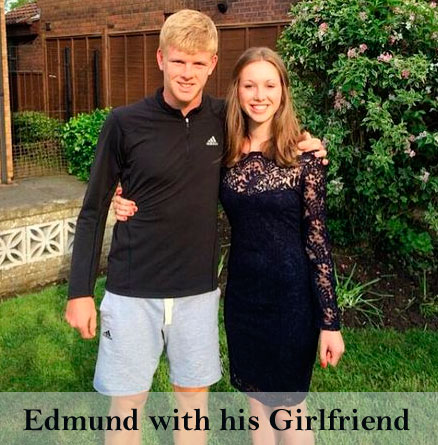 Kyle Edmund's girlfriend