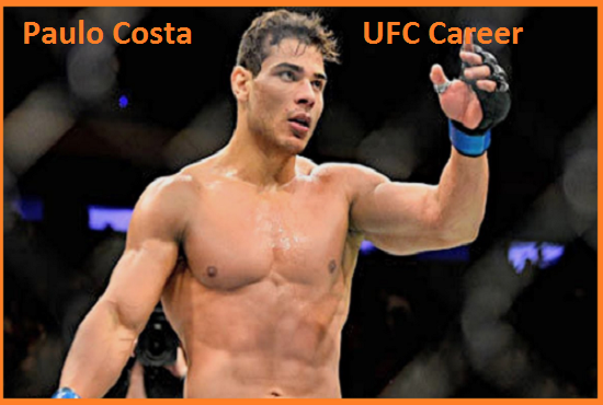 Paulo Costa UFC record, wife, net worth, age, height, family and more