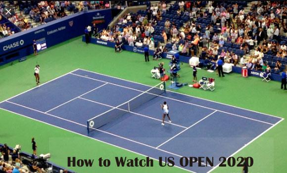 US Open 2020 live stream