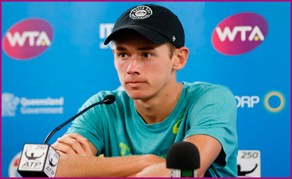Alex de Minaur tennis ranking, wife, age, salary, and family