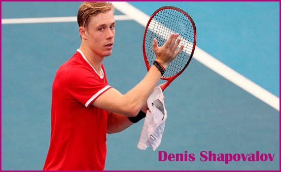 Denis Shapovalov tennis ranking, wife, girlfriend, salary, age, height, and family
