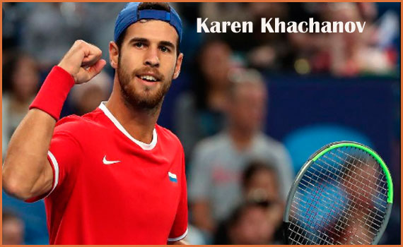 Karen Khachanov tennis ranking, wife, age, salary, height, and family