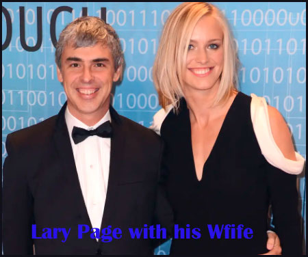 Larry page wife