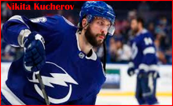 Nikita Kucherov Hockey player, wife, Jersey, contract, height, family and more­­