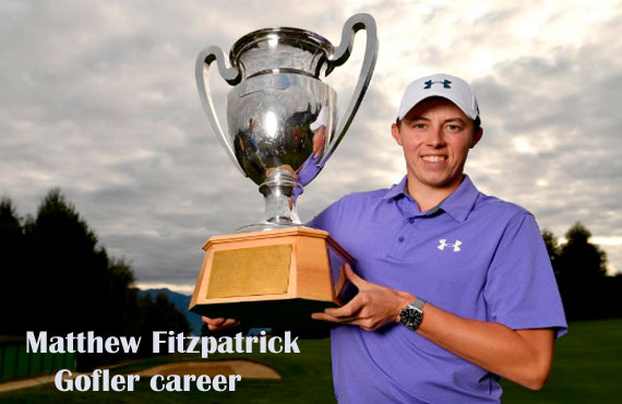 Matthew Fitzpatrick golfer, wife, net worth, salary, height, family and more