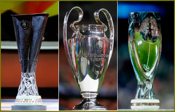 Teams that Won All the Major UEFA Club Trophies