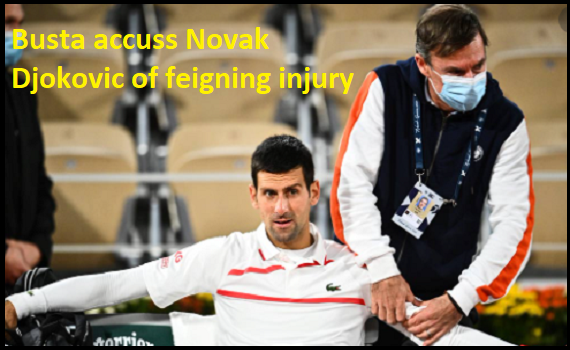 Novak Djokovic Secures Victory as Busta Accuses Him of Feigning Injury
