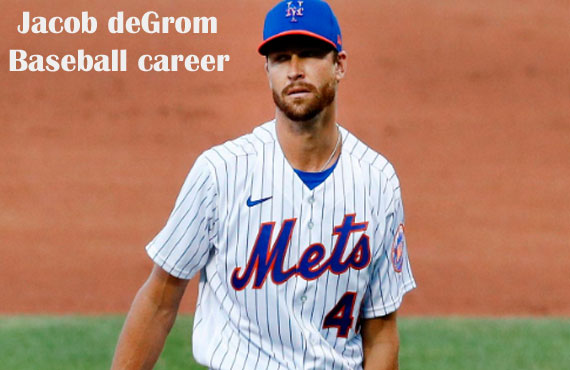 Jacob DeGrom MLB player, stats, wife, net worth, salary, contract, family and more