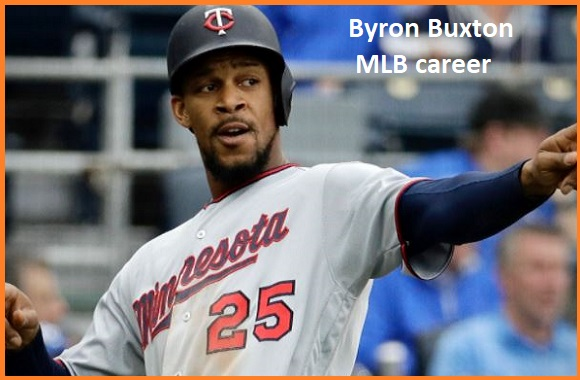 Byron Buxton MLB stats, wife, net worth, salary, contract, family and more
