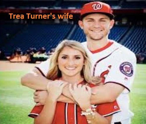 Trea Turner wife Kristen Harabedian
