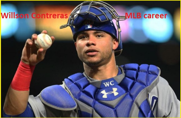 Willson Contreras baseball stats, wife, net worth, salary, contract, family and more