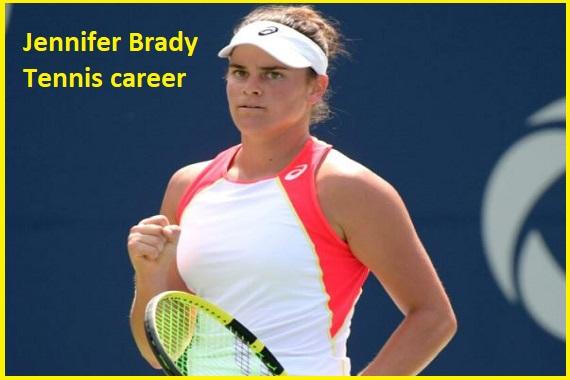 Jennifer Brady tennis career, boyfriend, net worth, height, family