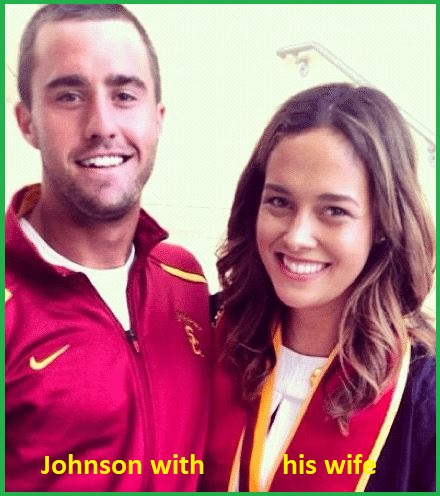 Steve Johnson with his wife