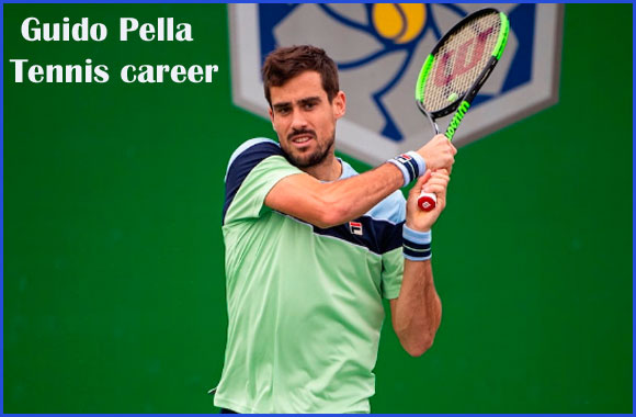 Guido Pella tennis player, wife, net worth, salary, height, family and more