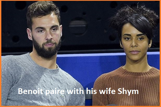 Paire with his wife Shym
