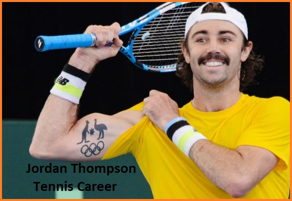 Jordan Thompson tennis player, wife, net worth, salary, height, family and more