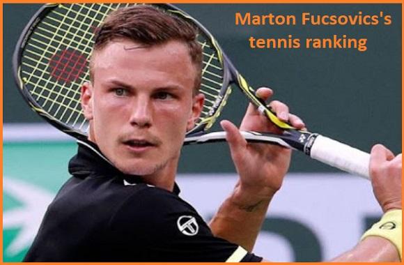 Marton Fucsovics tennis player, wife, net worth, salary, height, family and more