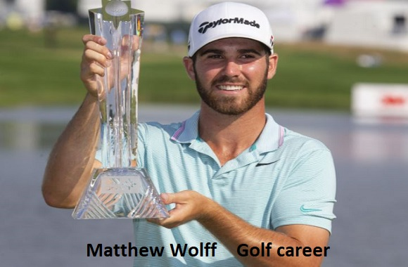 Matthew Wolff golfer, wife, net worth, salary, height, family and more