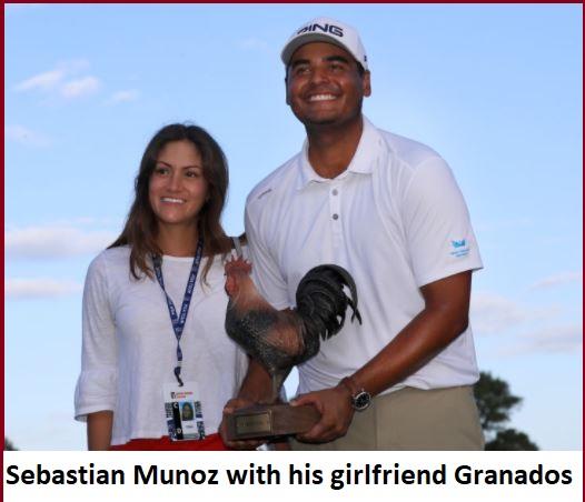 Sebastian Munoz with his girlfriend