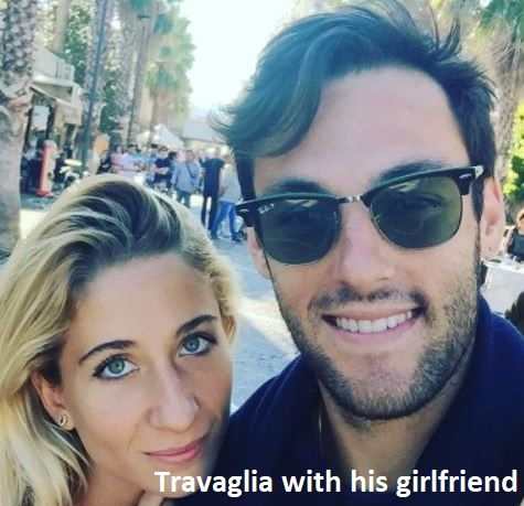 stefano travaglia with his girlfriend