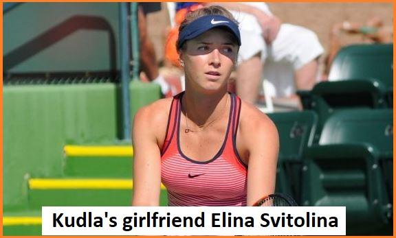 Denis Kudla girlfriend's Elina Svitolina