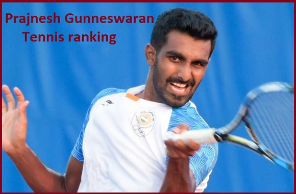 Prajnesh Gunneswaran tennis player, wife, net worth, salary, height, family and more