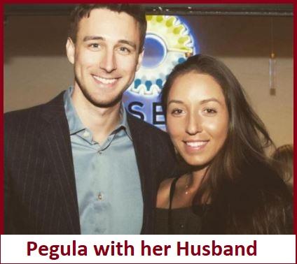 Jessica Pegula with her boyfriend