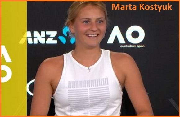 Marta Kostyuk tennis player, husband, net worth, salary, height, family, and more