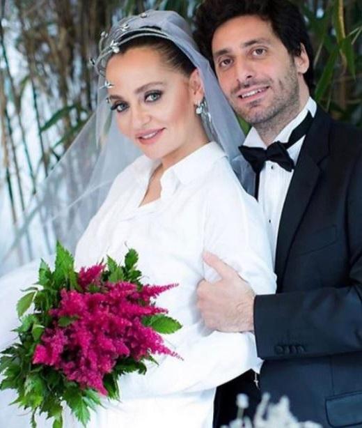 Didem Balcin with her husband